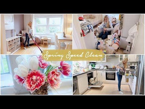 BIG SPRING SPEED CLEAN | CLEAN MY HOUSE WITH ME