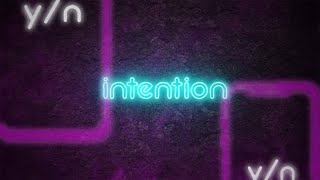 Kim Karlsson - Intention (Official Lyric Video)