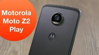 Обзор Motorola Moto Z2 Play: смартфон, который можно улучшать!