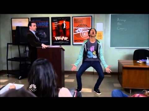 Abed39s impression of Nicolas Cage   Community Season 5