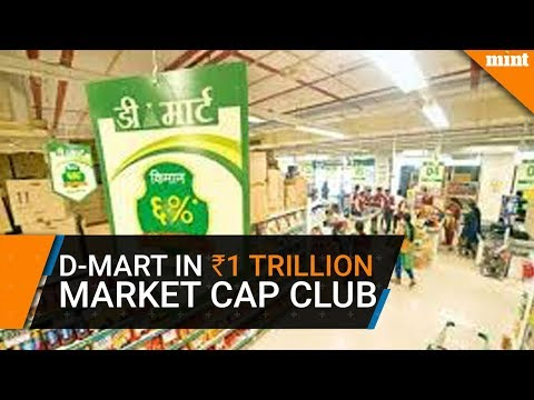 D-Mart parent joins Rs1 trillion market cap club