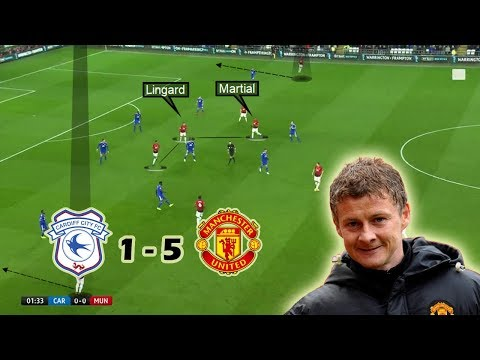 Ole Gunnar's First Game In-charge | Tactical Analysis | Cardiff vs Man United 1-5