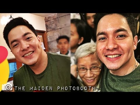 Alden Richards @ Conchas Quezon City Earlier September 17 2017 #ALDUBLoveShines