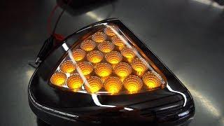 4 Parts In 4 Minutes - Aluminum Step Box, LED Double Face Light, Hub Cap, Side Marker Light