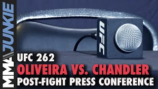 UFC 262: Oliveira vs. Chandler post-fight press conference