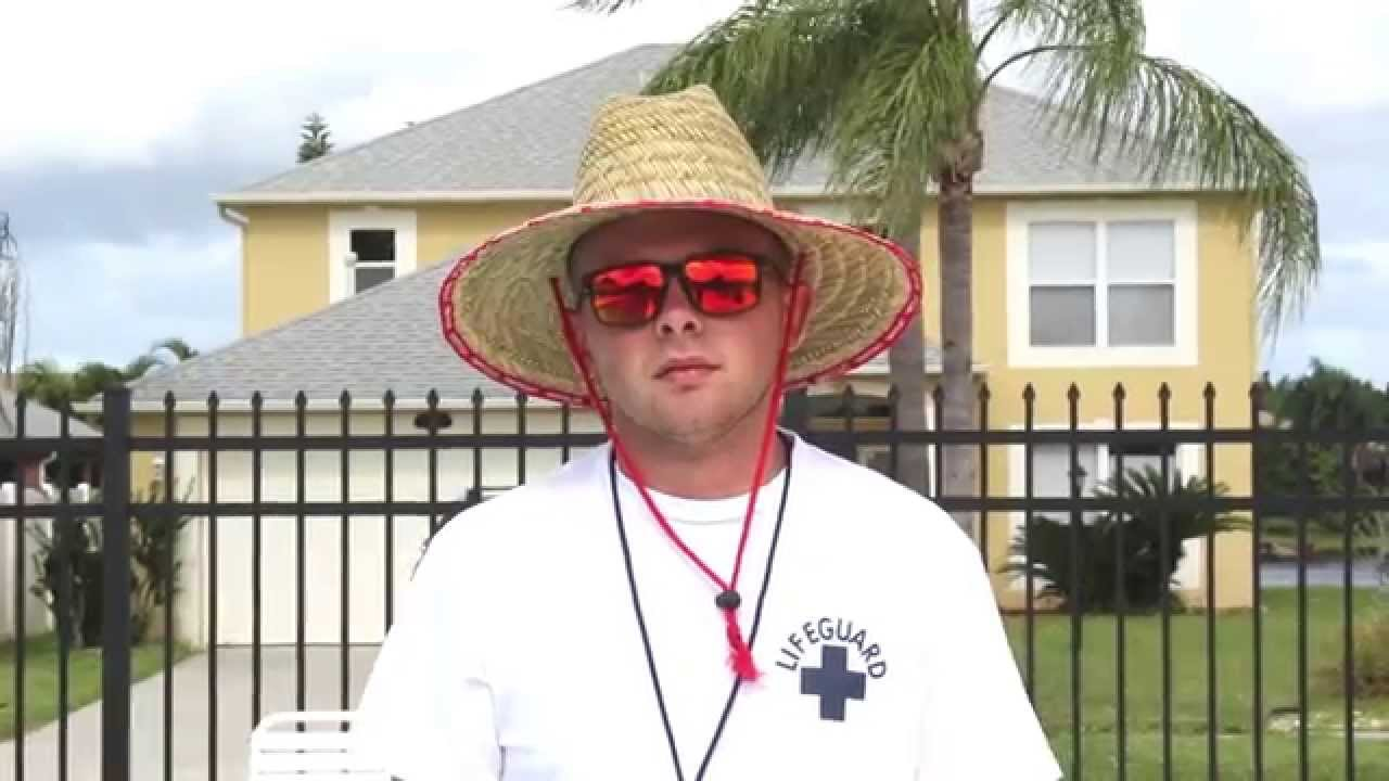 3aea2aee5d639 LIFEGUARD SURF STRAW HAT - YouTube
