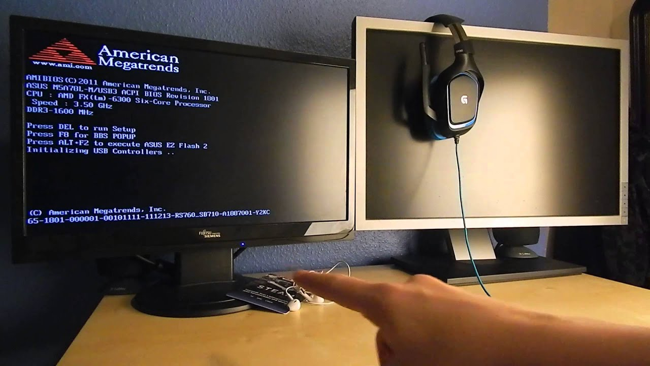 Was brauche ich, um zwei Monitore an einem PC anzuschließen