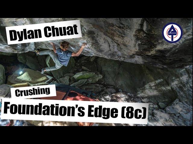 Dylan Chuat / Boulder Foundation's Edge (8c / V15)