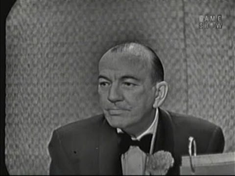 What's My Line?  Noel Coward; Keenan Wynn panel Mar 1, 1959