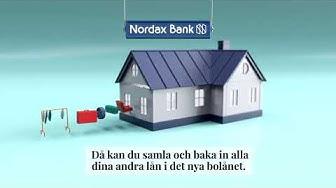Samla dina lån - Nordax Bolån   Nordax Bank