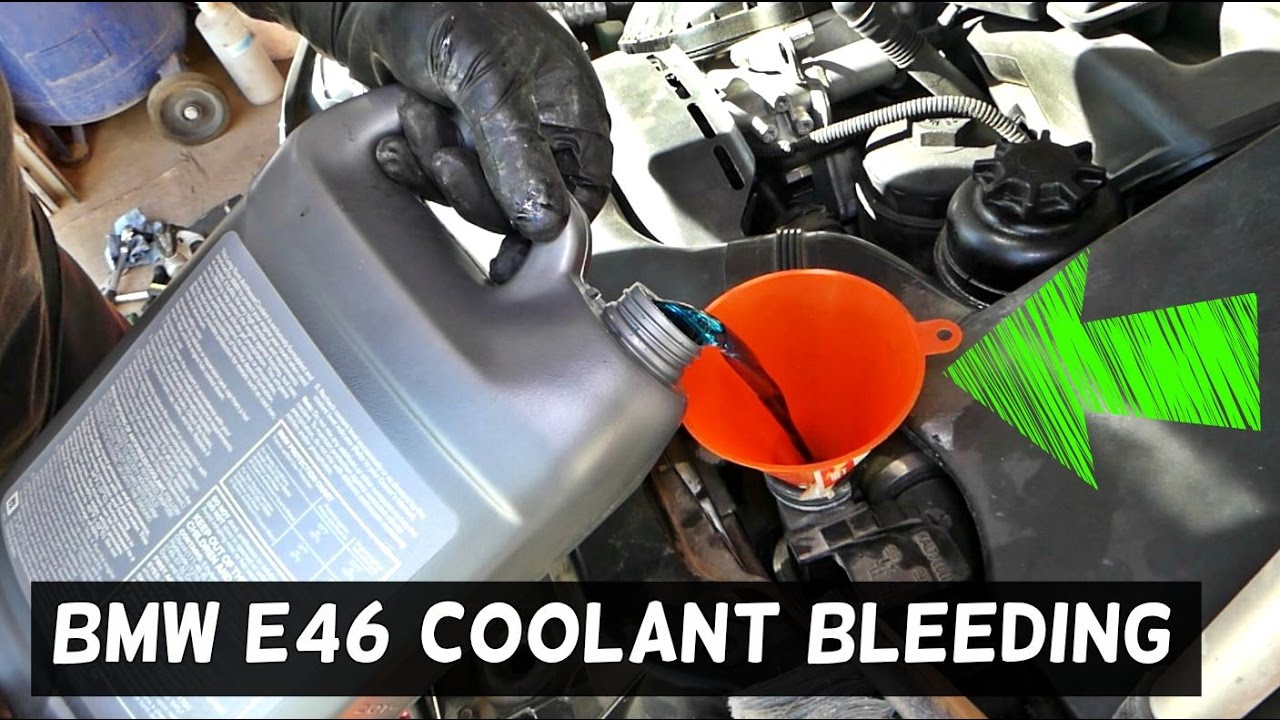 how to bleed cooling system on bmw e46 330i 325i 328i 323i 325ci 330ci 323ci [ 1280 x 720 Pixel ]