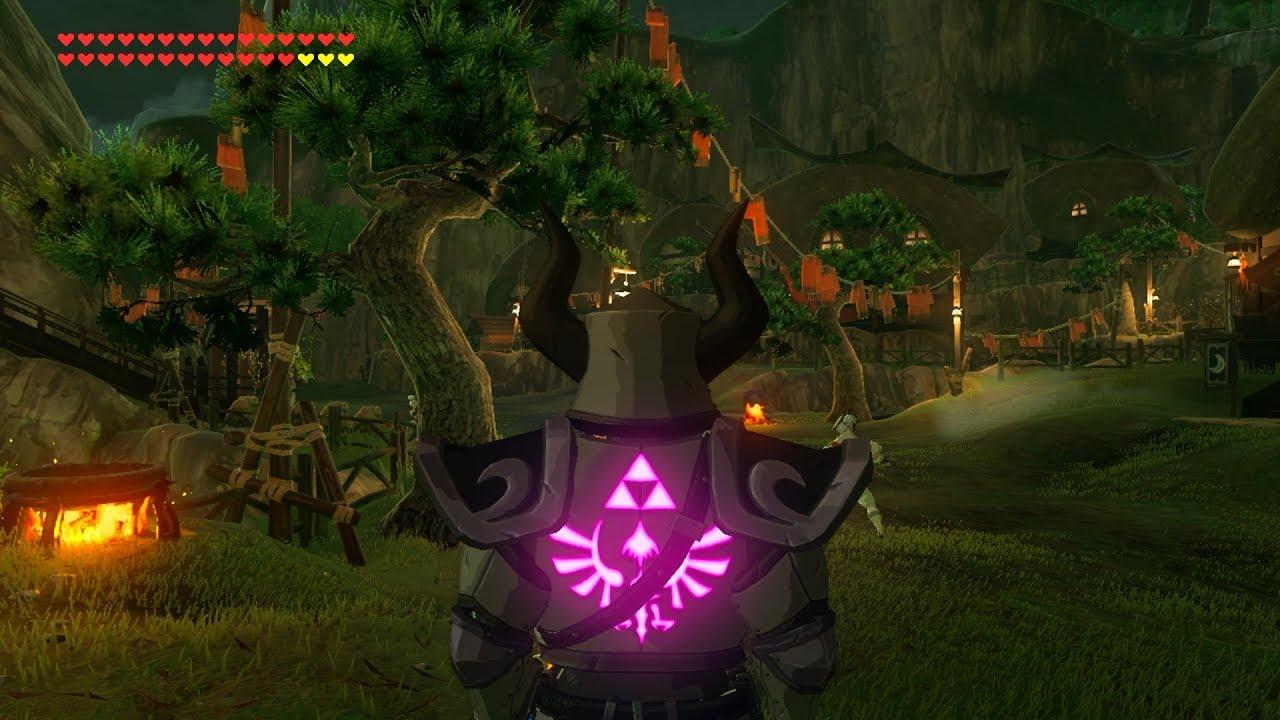 Zelda Botw Phantom Outfit Location Dlc Greaves Armor Helmet