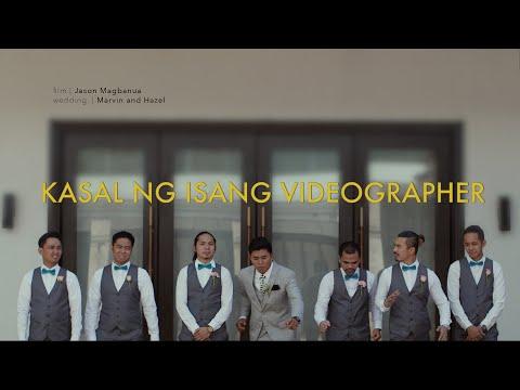 Kasal ng Isang Wedding Videographer.