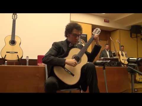 Andrea De Vitis  Roma Expo Guitars 2016  mod. Torres 1890 Liutaio Toni De Steo