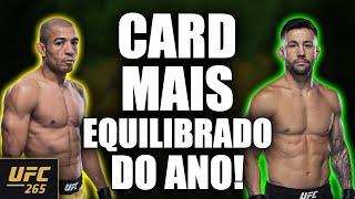 UFC 265 - CARD COMPLETO E TODOS OS FAVORITOS - UFC LEWIS VS GANE