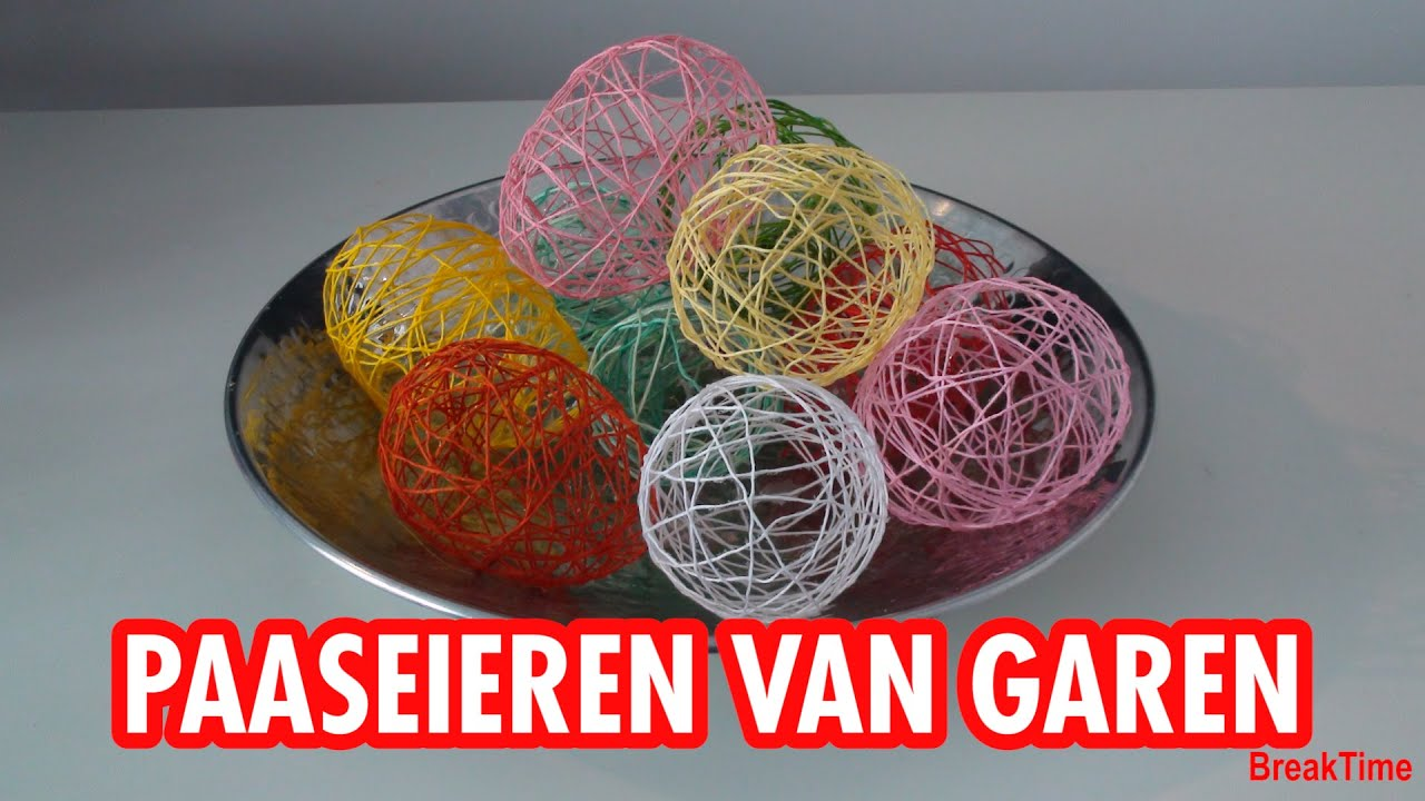 Diy Pasen Paaseieren Garen Youtube