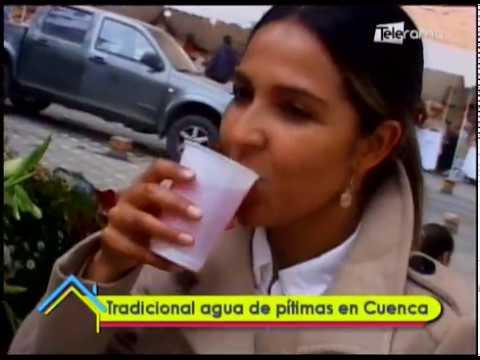 Tradicional agua de pítimas en Cuenca