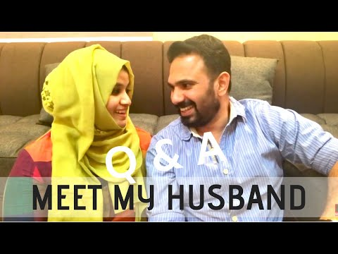 Meet my Husband! Q & A | Bloopers at the end