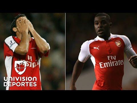 Vela y Campbell, dos 'bombarderos' con la pólvora mojada en el Arsenal