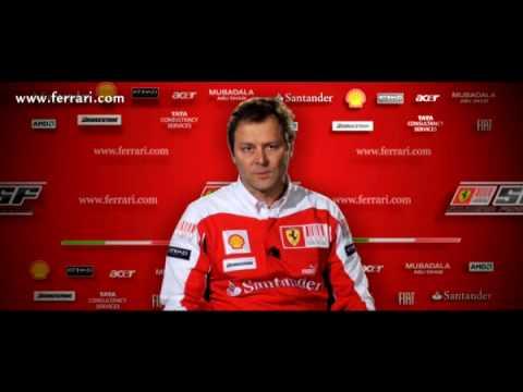 Presentazione Ferrari F10: Intervista a Aldo Costa