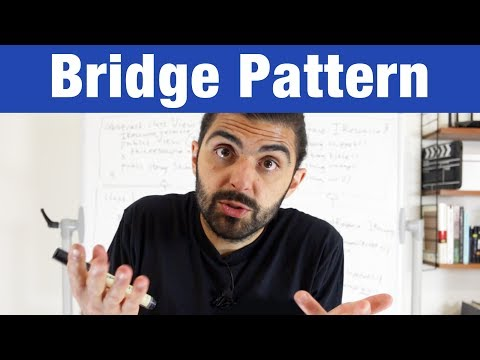 Bridge Pattern – Design Patterns (ep 11)