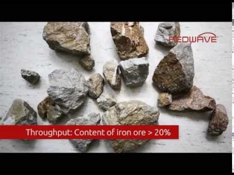 Mineral Sorting with XRF technology (Iron Ore Sorting)