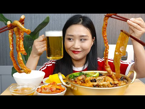 MUKBANG) 통곱창 마라탕💖 혈관 부셔버리는 지방의 맛..! GOPCHANG MALATANG(beef intestine hot pot) REAL SOUND EATING SHOW