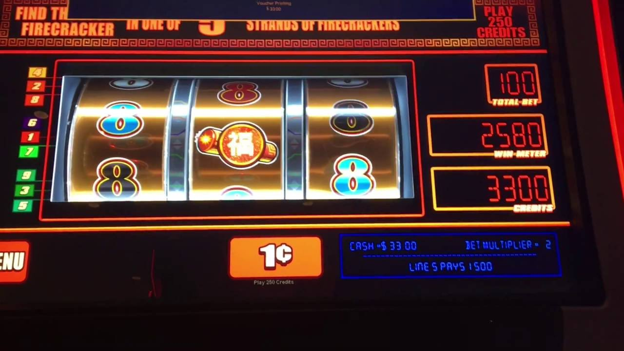 Bally firecracker slot machine casino poker chips with denominations