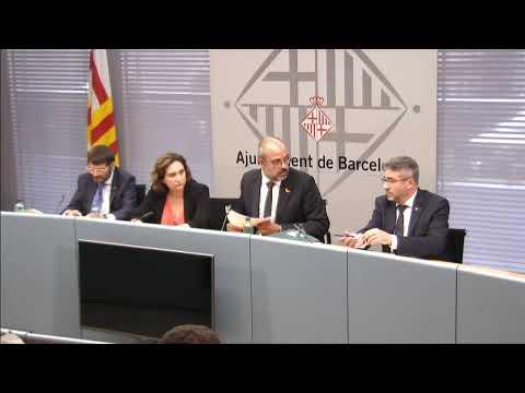 Ada Colau presideix la Junta Local de Seguretat de Barcelona