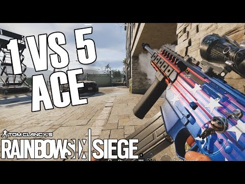The 1v5 Ace Clutch - Aces Of July (Rainbow Six Siege)