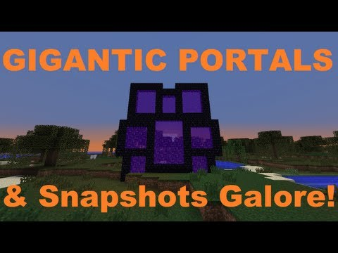 Minecraft Weekly News - Huge Portals, New FTB Wiki Vids & Snapshot!
