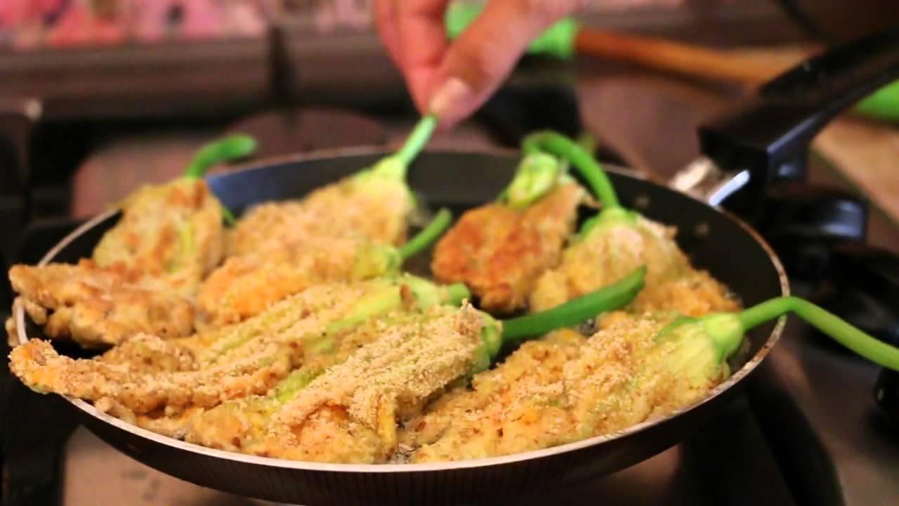Приготовить из цветов кабачка
