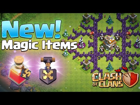 NEW Shovel Of Obstacles And Hero Potion | Winter Update | Clash Of Clans