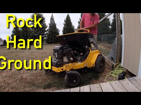 My Lawn Is Rock HARD / Aeration The EASY Way
