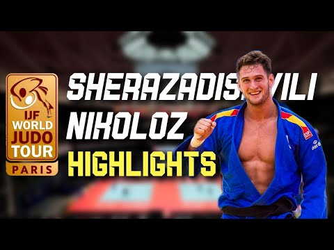 SHERAZADISHVILI Nikoloz Paris Grand Slam 2020 Highlights