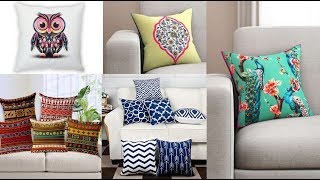 Cushion Cover Design | Pillow Cover Design ideas | Sofa Cushions | Home Decor