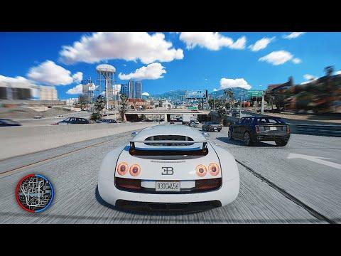 ►GTA 5 - Ultra 8k *NEW 2019* GTA 6 Graphics Real Life PC Mod! - 2x RTX 2080 Ti Gaming PC