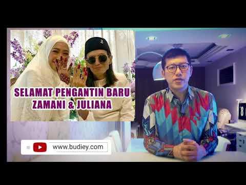 Video Berita Majlis Nikah Zamani & Juliana, Selamat Pengantin Baru!