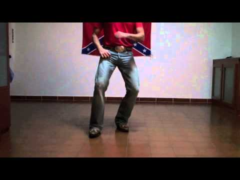That Girl country line dance - steps - YouTube