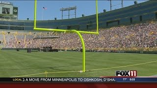 Packers shareholders meet at Lambeau Field