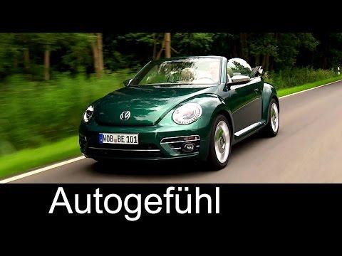 New VW Volkswagen Beetle Facelift Exterior/Interior 2017 VW neu - Autogefühl