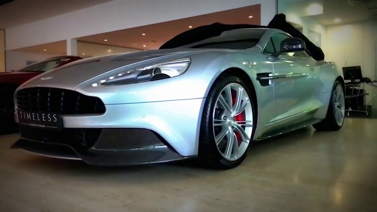 Aston Martin Leeds Vanquish Coupe In Skyfall Silver Youtube
