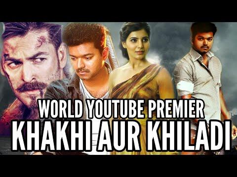 Khakhi Aur Khiladi  Kaththi  Full Hindi Dubbed Movie  Vijay, Samantha, Neil Nitin Mukesh