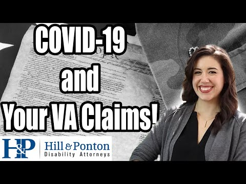 COVID-19 and Your VA Claims