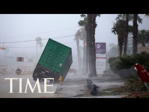 Hurricane Harvey In Houston: Watch The Storm Unfold As Residents Continue To Evacuate | LIVE | TIME