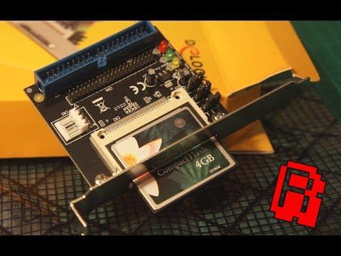 486 Trash to Treasure Pt1   IDE HD to Compact Flash