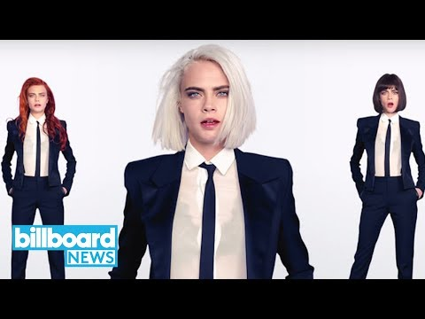 Cara Delevingne Releases Her First-Ever Music Video For 'I Feel Everything' | Billboard News