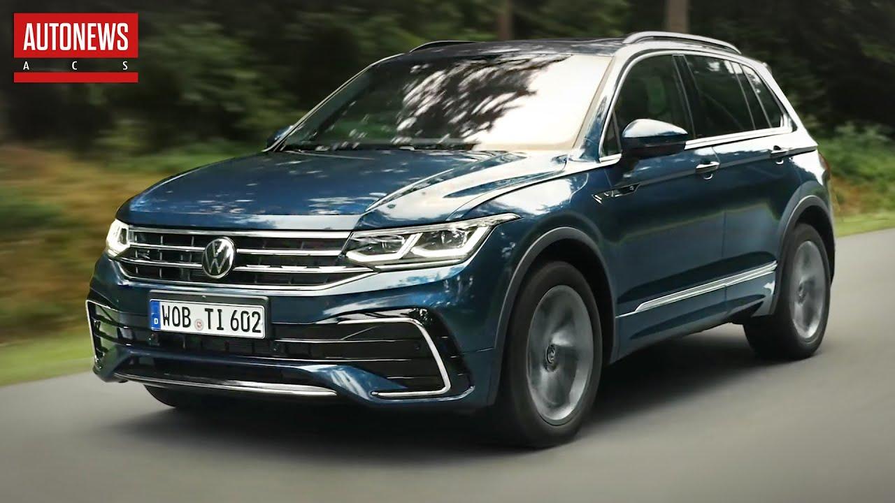 Volkswagen Tiguan (2021): заряжаемый гибрид и R-версия! Все подробности