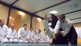 Видео тренировка Айкидо, Новосибирск
