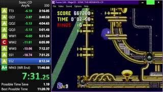 Sonic CD Speedrun: 11:29.05 Any% SS [Current World Record]